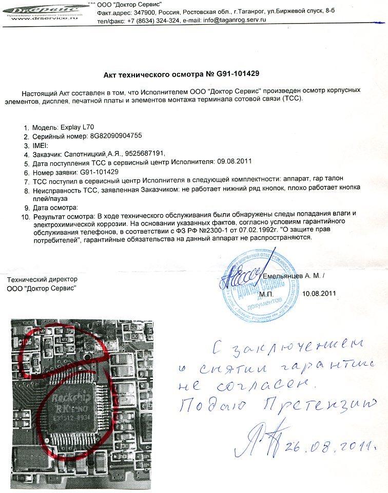 Акт Оценки Технического Состояния Оборудования Образец